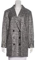 Marc by Marc Jacobs Metallic Double-Breasted Coat w/ Tags