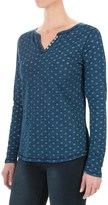 FDJ French Dressing Medallion Print Shirt - Long Sleeve (For Women)