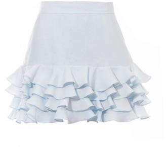 Talented Ruffled Miniskirt