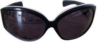 Chrome Hearts Black Metal Sunglasses