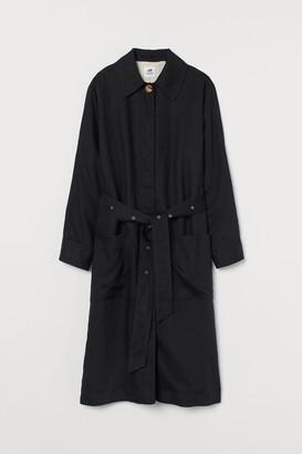 H&M Side-slit Coat