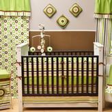 Bacati Mod Dots and Stripes 10 Piece Crib Bedding Set