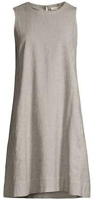 Eileen Fisher Round-Neck Sleeveless Dress