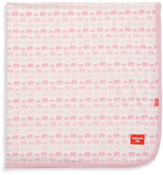Magnetic Me Baby Girl's Dancing Elephants Blanket