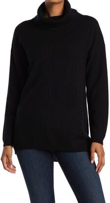 Magaschoni Cowl Neck Cashmere Tunic Sweater
