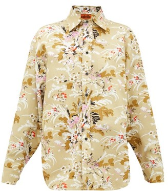 colville Floral-print Cotton-twill Shirt - Multi