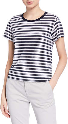 Velvet Mia Striped Short-Sleeve Tee