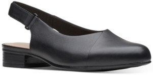 Clarks Collection Women's Julliet Pull Slingback Dress Shoes Women's Shoes