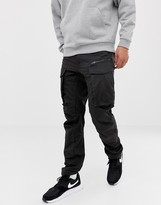 Thumbnail for your product : G Star G-Star Rovic tapered fit zip 3D cargo pants in black