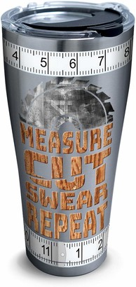 Tervis Measure Cut Swear Stainless Steel Insulated Tumbler with Lid 30 oz