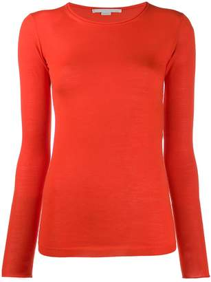 Stella McCartney roll neck fitted jumper