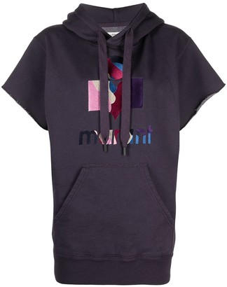 Etoile Isabel Marant Miles short-sleeve hoodie