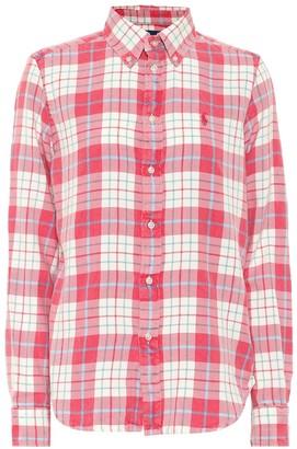 Polo Ralph Lauren Checked cotton flannel shirt