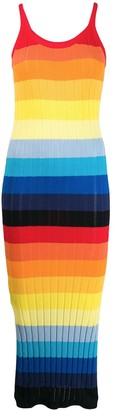 Chinti and Parker Striped Slip Dress