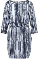 Kiomi Summer dress blue/white