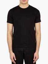 Comme Des Garcons Shirt Black Cotton T-shirt