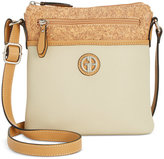Giani Bernini Saffiano Colorblock Crossbody, Created for Macy's