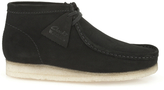 Clarks Originals Wallabee Boots Black Suede
