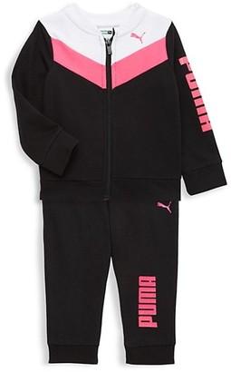 Puma Baby Girl's 2-Piece Zip Jacket Joggers Set