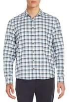 ATM Anthony Thomas Melillo Regular-Fit Plaid Flannel Sportshirt