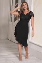 Jessica Wright Sistaglam Loves Lyndia Black Dress