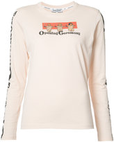 Opening Ceremony printed longsleeved T-shirt - women - Cotton - XS