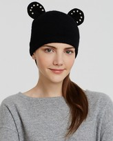 Helene Berman Beanie with Studded Ears