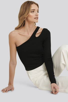 Xle The Label Lucy one shoulder bodycon top