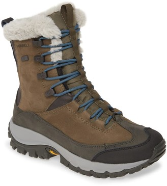 Merrell Thermo Faux Shearling Lined Waterproof Boot