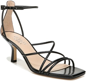 Franco Sarto Square-Toe Leather Sandals - Mia