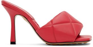 Bottega Veneta Pink Lido Sandals