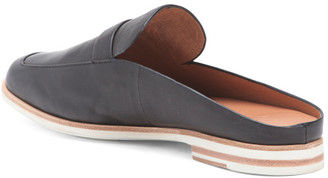 Leather All Day Comfort Mules