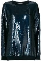 Stella McCartney sequin-embellished Ines sweatshirt