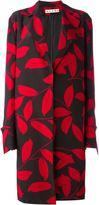 Marni leaf print coat