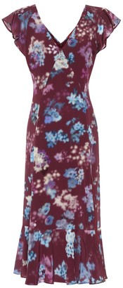 Altuzarra Floral silk-crepe midi dress