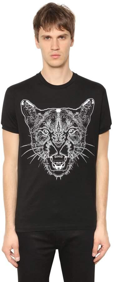 Marcelo Burlon County of Milan Puma Printed Cotton Jersey T-Shirt