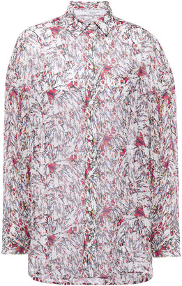 IRO Eager Printed Georgette Shirt