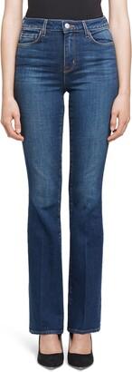L'Agence Oriana High Waist Straight Leg Jeans