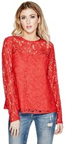 GUESS Rudy Corded Lace Top