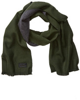 Belstaff Signature Solid Double Face Wool Scarf