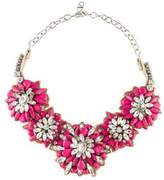 Valentino Crystal & Resin Collar Necklace