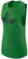 Nike Women's Oregon Ducks Dri-FIT Muscle Tee