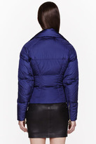 DSquared DSQUARED2 Blue Nylon Couturette Puff Jacket