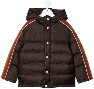 Gucci Kids Hooded Padded Jacket