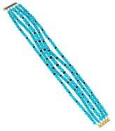 Paul Morelli 18K Turquoise & Ruby Bracelet