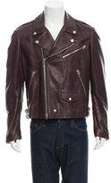 Burberry Leather Biker Jacket