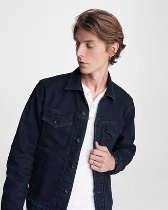 Definitive cotton cashmere jean jacket
