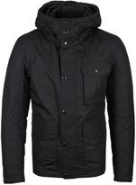 Cp Company Black Down Padded Goggle Jacket