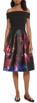 Ted Baker Women's Kimey Impressionist Fit & Flare Dress