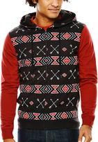 JCPenney NOVELTY SEASON Fifth Sun Tribal Full-Zip Hoodie